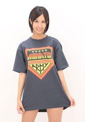 湊莉久MINATO ARMY Tシャツ Mサイズ