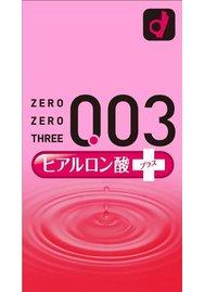 オカモト ゼロゼロスリー 0.03 ヒアルロン酸 10個入り
