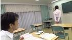 女教師、誰もいない夏休みの教室で男子生徒をいじくり犯す連続強制中出し 霧島さくら_1
