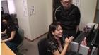AV会社でモザイク処理のアルバイトをする女たち豪華版(1)~無修正チンコマ●コに興奮したところをすかさずハメ!_10